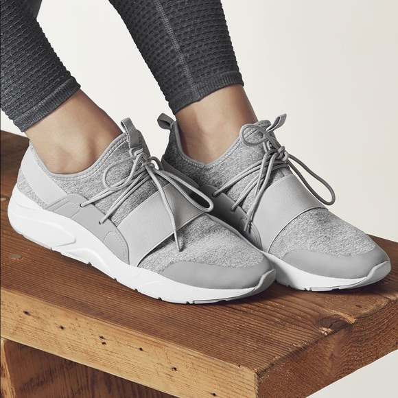 Fabletics Shoes - Fabletics Zuma Studio Sneakers in Grey cc164346701
